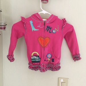 🍋Lemon Loves Lime Girls sweater jacket